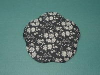 花の布小皿10