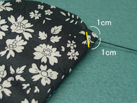 花の布小皿12