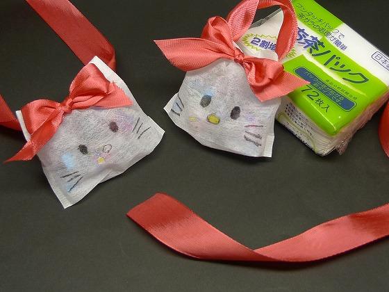 すべての折り紙 折り紙 梅 : 飴のネックレス「キティちゃん ...
