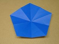 五角形のお花1