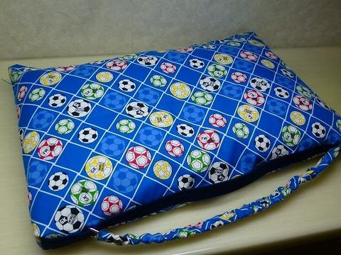 防災頭巾カバー・座布団タイプ(二枚仕立て)