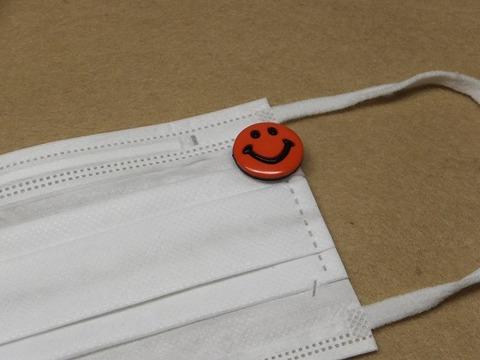 市販の不織布マスクのアクセサリー