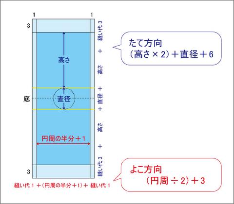 水筒カバー参考図
