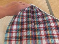 ニつ折り防災頭巾図08