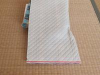 ニつ折り防災頭巾図16