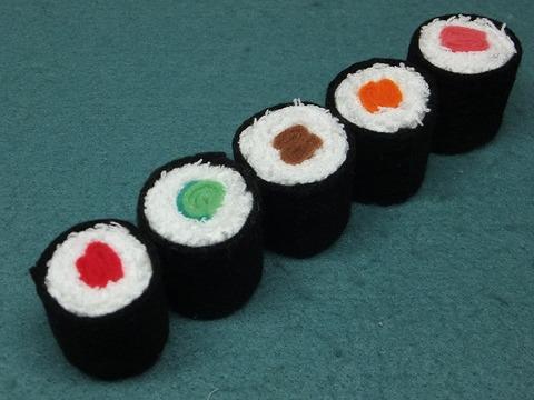 ままごと◆お寿司◆細巻き