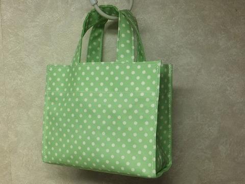 ビニコの豆バッグ(サイドステッチ・袋縫い仕上げ)