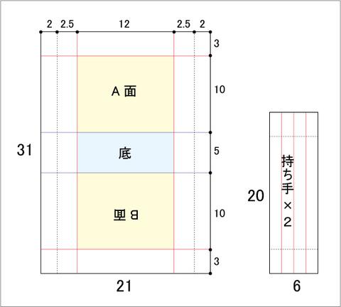 ビニコ豆バッグ参考図