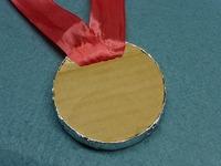 アルミ箔メダル03