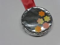 アルミ箔メダル04