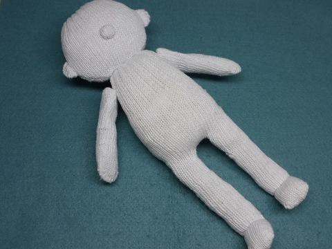 軍手で作る人形「リーくん」「メイちゃん」