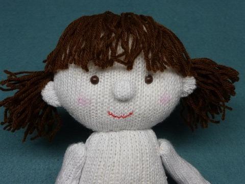 メイちゃんの「顔」と「髪の毛」