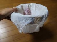ゴミ箱にレジ袋を作成08