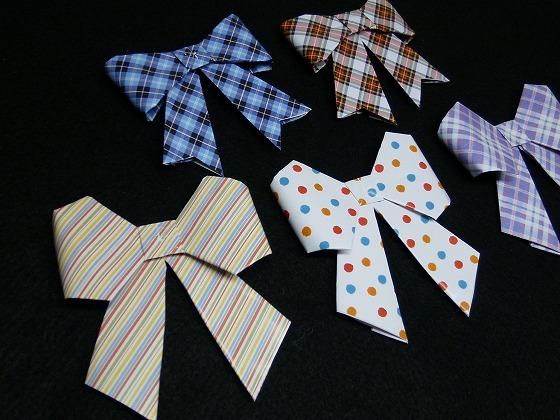 簡単 折り紙:リボン 作り方 折り紙-handmade.xsrv.jp
