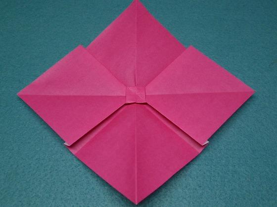 ハート 折り紙 リボンの折り方 折り紙 : handmade.xsrv.jp