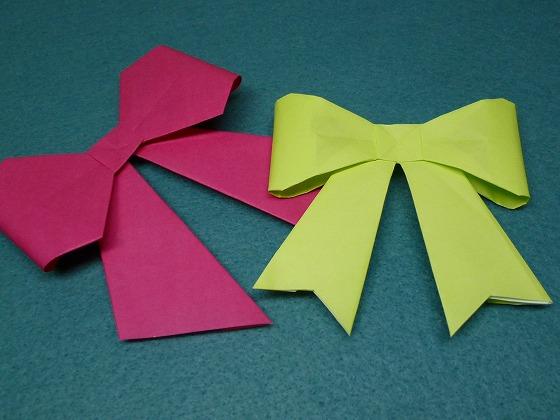 クリスマス 折り紙 折り紙 リボン 折り方 : handmade.xsrv.jp