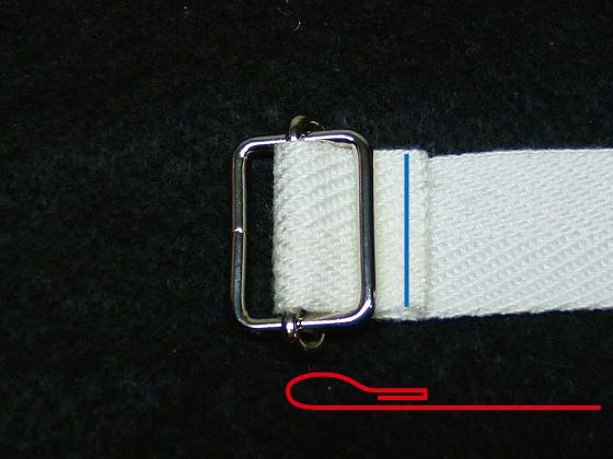 カン 付け方 移動 移動ポケットを手作り。バンドクリップはセリアで入手しました。