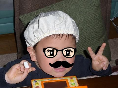 給食帽子(ベレー帽タイプ)