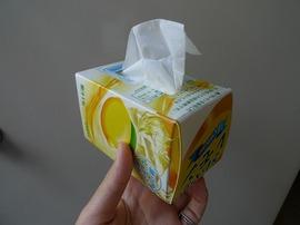 牛乳パックティッシュBOX2