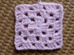 かぎ針編み作品モチーフ