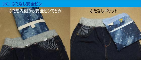 ポケット付け方K