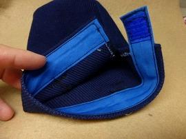 丸底水筒カバーの袋口