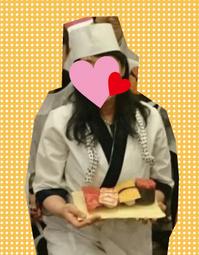 寿司屋の衣装