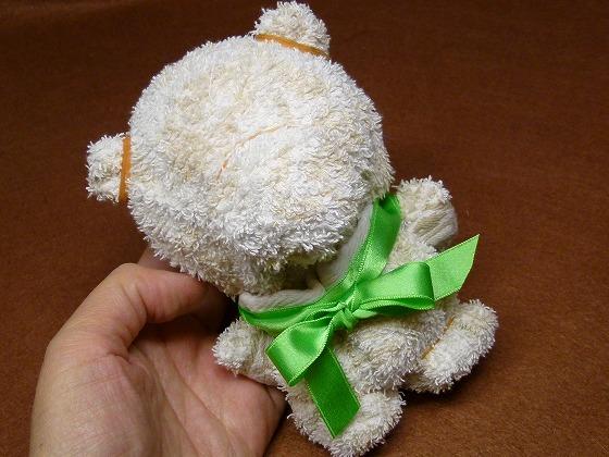 タオル手芸クマ
