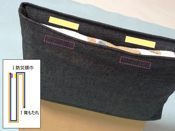 ポケット型防災頭巾5-2