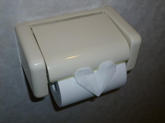 トイレットペーパー折紙