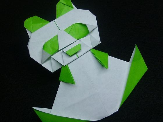 すべての折り紙 折り紙パンダ顔折り方 : パンダ記念!パンダの折り紙 ...