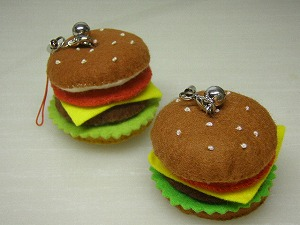 フェルトハンバーガー1