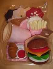 フェルトハンバーガー3