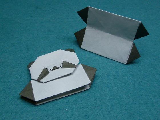 簡単 折り紙 折り紙パンダの折り方 : handmade.xsrv.jp