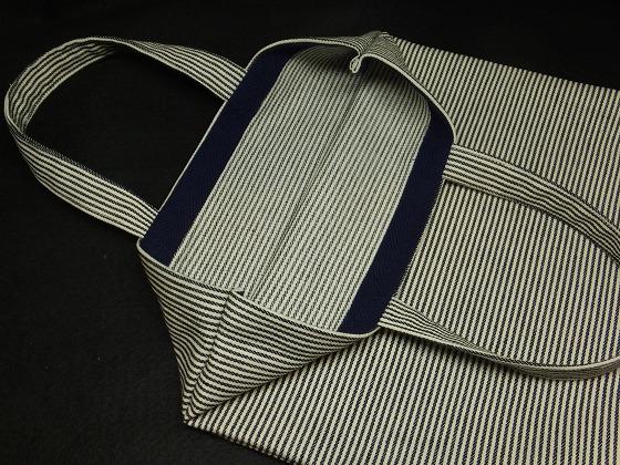図工バッグ袋口