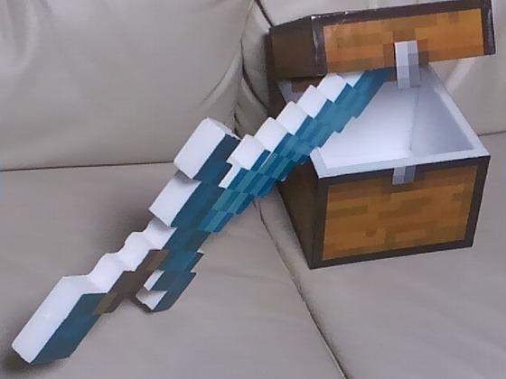 2016ハロウィンマイクラ剣と盾