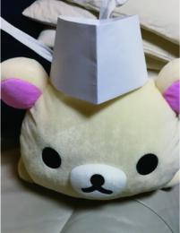 寿司屋の和帽子