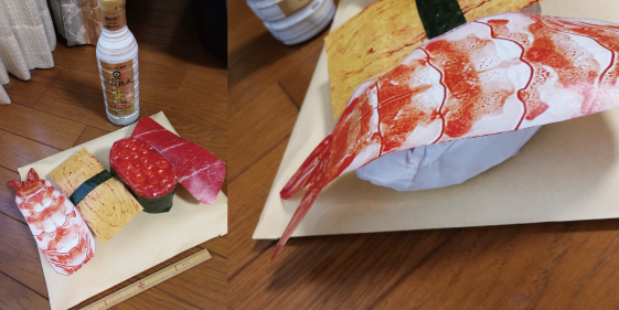 寿司屋の小道具